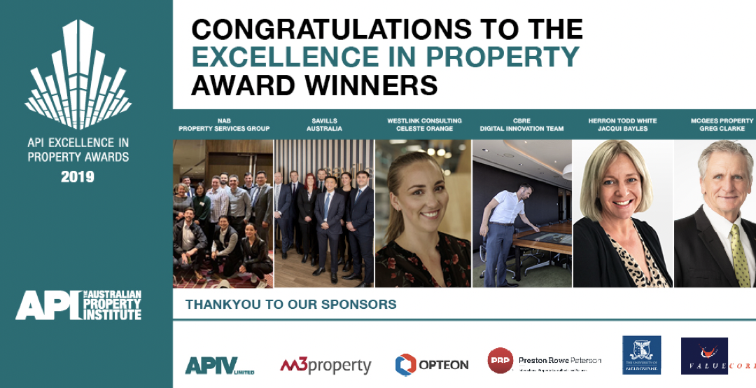 Celebrating the API's Excellence in Property Awards And the winners are…